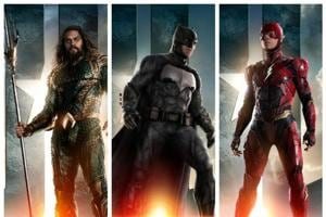 Justice League unite: New posters, teasers for Batman, Aquaman and...