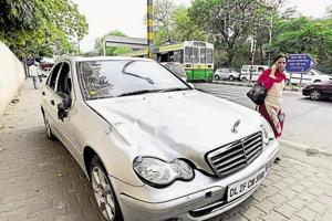 Delhi cops chargesheet father, mother of teen in Mercedes who ran over...