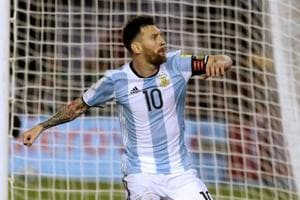 Lionel Messi gives relieved Argentina 1-0 win over Chile in World Cup...