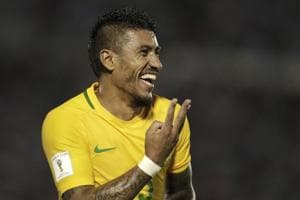 Paulinho scores hat-trick as Brazil thrash Uruguay in FIFA World Cup...