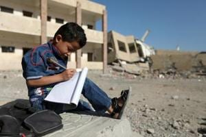 Yemen children dream of school as Saudi Arabia led war keeps them out