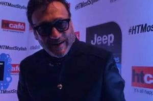 Jackie Shroff's mystery outfit at HT Most Stylish