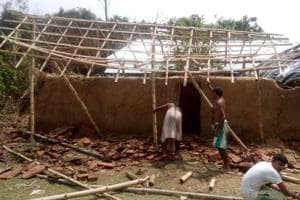 Cyclone kills two in Malda, damages 6,000 houses, mango and litchi...