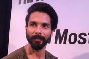 Shahid wore Khanijou to the HT Most Stylish awards. When asked about...