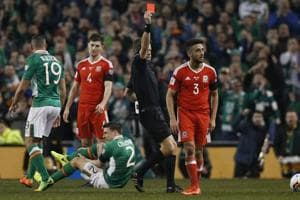 Wales's Neil Taylor 'in bits' over Seamus Coleman injury