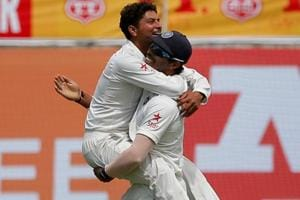 Kuldeep Yadav impresses Sachin Tendulkar as Twitter celebrates new...