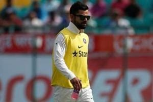 Virat Kohli gets loudest cheer in Dharamsala despite missing Test with...