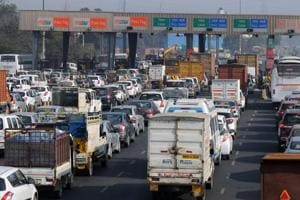 Gurgaon: Toll of commercial vehicles hiked at Kherki Daula