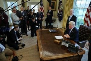 Trump 'disappointed, a little surprised' by stinging health care...
