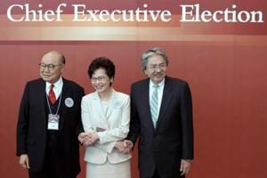 Hong Kong set to get new leader amid protests, accusations of China...