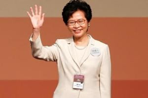 Beijing's pick Carrie Lam first female leader of Hong Kong