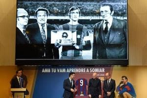 Barcelona plans Johan Cruyff tribute at training centre