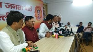 AAP MLA Ved Prakash joins Delhi BJP, saffron party says in talks with...