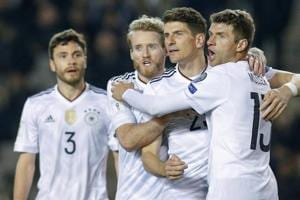 Andre Schuerrle scores twice as Germany rout Azerbaijan in World Cup...