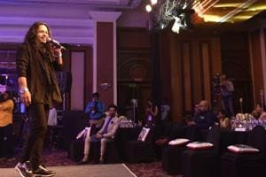 Kailash Kher's was the opening sequence at the HT Most Stylish awards in Mumbai on Friday.