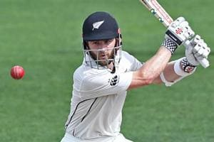 Kane Williamson slams record-equalling century against South Africa at...
