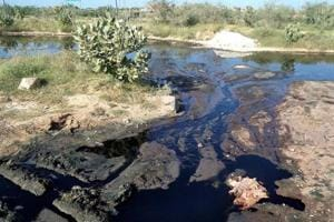 Pali textile units pollute Bandi river despite NGT stay