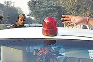 Noida traffic police will act tough on 'VIPs', to crack down on use of...
