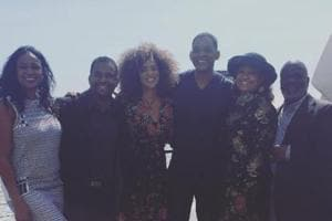 Will Smith and the cast of Fresh Prince of Bel-Air reunite for cool...