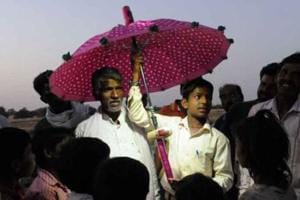 14-year-old Ramkrishna Ahirwar invented a magical umbrella for his...