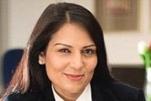 Indian-origin UK minister Priti Patel receives Pravasi Bharatiya...
