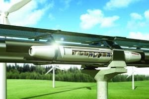 Hyperloop is a proposed mode of passenger and freight transportation that would propel a pod-like vehicle levitating through a tube-like track at more than the speed of a jet-propelled airplane.