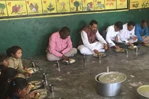 For quality MDM, Chail MLA breaks bread with kids at govt schools
