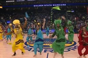 Watch: Bhangra fever hits basketball courts, NBA half-time video goes...