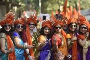 Who has better cultural presence? Political parties line Gudi Padwa...