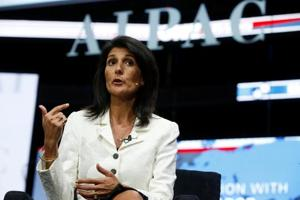 Can't allow 'bad actors' to have nuclear weapons: Nikki Haley