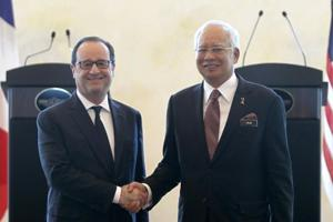 Malaysian PM tells France not ready to decide on buying Rafale jets