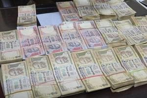 Old notes of Rs 42 lakh face value seized in Gujarat