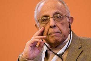 Indian-origin South African anti-apartheid activist Ahmed Kathrada...