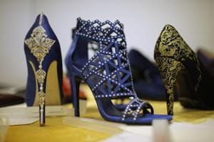 In Pics: Italian artisan crafts 24-carat gold shoes, targets high-end...