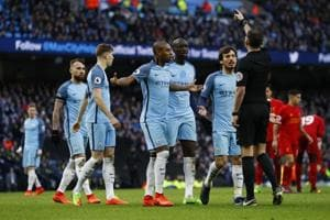 Manchester City fined 35,000 pounds for failing to control players