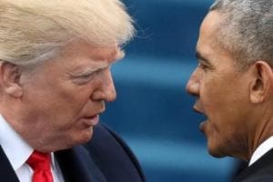Donald Trump signs legislation rolling back Barack Obama-era...