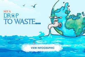 Not a Drop to Waste- A Water Day Infographic