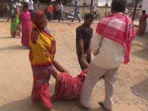 No stretcher, so mentally challenged woman dragged by limbs at Bihar...