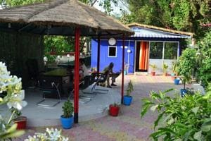 Made of waste, Sangam police outpost boasts of beauty & comfort