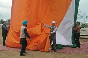India's tallest tricolour at Wagah border to be replaced for fourth...