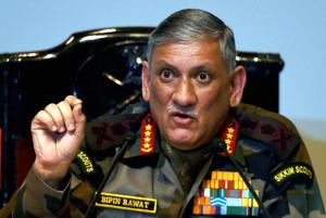 Gen Rawat said India wants to see a prosperous, peaceful and developed Nepal.