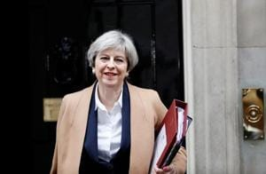 Brexit: Theresa May triggers Article 50, calls it 'great turning...
