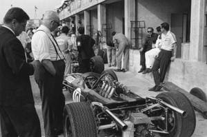 Daring attempt to steal F1 legend Enzo Ferrari's body from his grave...