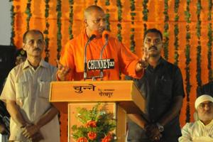 CM Yogi Adityanath trying to strike a balance between God, governance