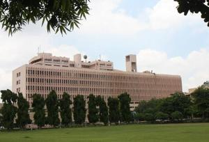 The 19-year-old student sustained multiple fractures in the fall and is battling for life at AIIMS.