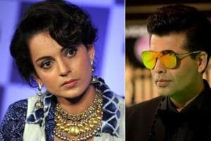 I will run: Karan Johar on hearing Kangana's name