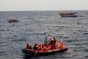 146 migrants feared dead after shipwreck in Mediterranean, says lone...