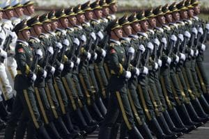 Chinese military conducts training drill near Myanmar border