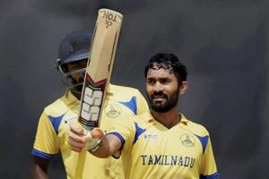 Tamil Nadu ride Dinesh Karthik ton to win Deodhar Trophy final
