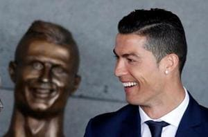 Cristiano Ronaldo's 'hideous' statue sparks social media laughs
